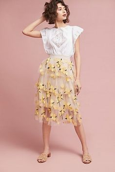 Spring Melody Tulle Skirt