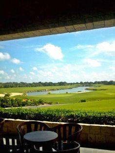 Nada como disfrutar de las hermosas vistas que nos ofrece la terraza del bar concession en las mañanas #propiedades #venta #terrenos #departamentos #casas #realestate #luxury #happy #Beautiful #vistas #campo #golf #yucatan #merida #seguridad