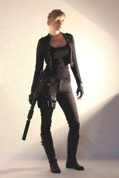 Female Agent STOCK II by PhelanDavion on deviantART