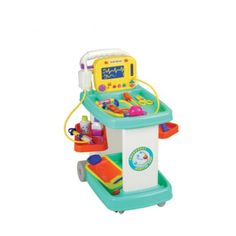 CP Toys Pretend Play Electronic Medical Cart w/ Realistic Sounds & Accessories Career Exploration, Doctor In, Child Life, Pretend Play, Toys For Girls, Xmas Gifts, Gifts For Kids, Medical, Cart