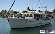 Flemingo - 50' Fred Fleming Deck Boat, Boat Design, Wooden Boats, Yachts, Sailing Ships, Heaven, Places, Ships, Houseboats