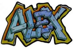 graffiti names - Google Search