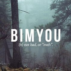 Here's another #Japanese word for you all! Bimyou! Not bad, huh?  How would you guys use this word? Leave us a comment!