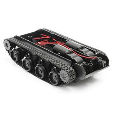 Compare Price Malloom Smart Robot Tank Car Chassis Kit Rubber Track Crawler for Arduino 130 Motor High Quality Hot Sell Accessory Promotion Diy Robot, Smart Robot, Smart Car, E Book Reader, Mercedes Benz 300, Robot Chassis, Diy Electronic Kits, Carl Benz, Tanks