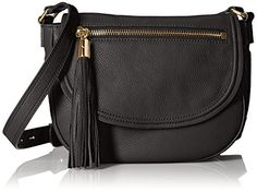 MILLY Astor Saddle Cross Body, Black, One Size MILLY https://smile.amazon.com/dp/B01616J1XI/ref=cm_sw_r_pi_dp_x_IqFAyb344AK05