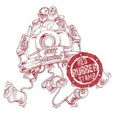 Just Married Car Rubber Stamp