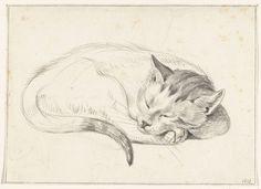 In het Rijksmuseum zijn een hele reeks katten tekeningen te vinden gemaakt door Jean Bernard. Jean Bernard werd op 1 april 1765 geboren in Amsterdam. Er is helaas weinig bekend over zijn leven, dat…