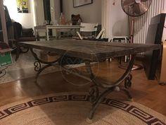 ΤΡΑΠΕΖΙ σαλονιού, ρουστίκ, σε άριστη κατάσταση, διαστάσεις: 1,20 x 0,70 x 0,50 μ. ύψος, αγοράστηκε πριν λίγα χρόνια 650€, παραλαβή από Κουκάκι, τιμή 180€ , 11:00-22:00 Dining Table, Furniture, Home Decor, Decoration Home, Room Decor, Dinner Table, Home Furnishings, Dining Room Table, Home Interior Design