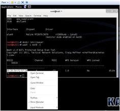 using reaver and kali linux