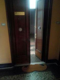 Entrance moustache doormat