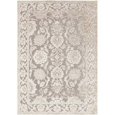 Grey, Rugs 7x9 - 10x14 Rugs : Use large area rugs to bring a new mood to an old room or to plan your decor around a rug you love. Free Shipping on orders over $45!