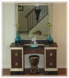 vanity revival vintage upcycle, bedroom ideas, go green, home decor, painted furniture, repurposing upcycling