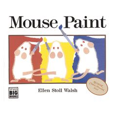 """Ellen Stoll Walsh. The humor and beautifully simple design of this educational book will appeal to children who know the joy of splashing about in paintŠ—""""and to their parents, who will appreciate the"""