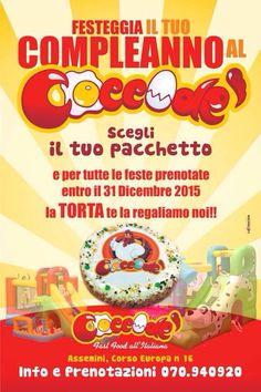 Torta gratis se prenoti entro il 31 Dicembre 2015