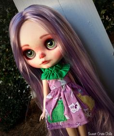 https://flic.kr/p/Bdbaby   Commission dolly for Sabrina - OOAK Blythe #27