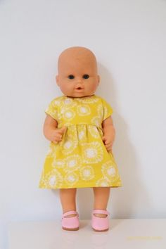 Sewing Dolls, Miniature Dolls, Little Ones, Baby Dolls, Summer Dresses, Crochet, Kids, Rubik's Cube, Ferrero Rocher