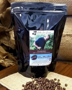 Arthur McGowan's Peaberry Jamaica 🇯🇲 Blue Mountain Coffee ☕ Brought to you Exclusivly by Blue Mountain Coffee Inc. Jamaican Coffee, Blue Mountain Coffee, Micro Farm, Dark Roast, Atlanta, The 100, Lunch Box