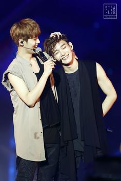 luhan and chen ~ #exo
