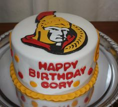 Amazing Cake Decorating Ottawa with regard to Ottawa Senators Cake - Cakecentral Picture Cake Decorating Shop, Decorating Jobs, Cake Decorating Courses, Cake Decorating Supplies, Hockey Party, Halloween Cookies Decorated, Cakes And More, Ottawa, Cake Cookies