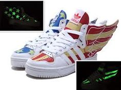 meet d6dd3 5ec86 Glow in the dark adiddas wings USA