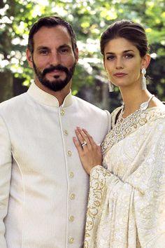 American model weds Aga Khan prince
