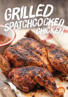 Spatchcocked Chicken ~ Hard to pronounce... Easy to make!