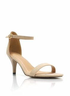 Low, but sexy Ankle Strap Heels