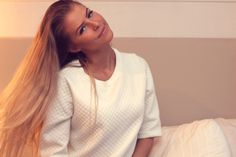 Aurora Mohn / Girl / Blogger / Beauty / Beautiful / Blond Hair Long
