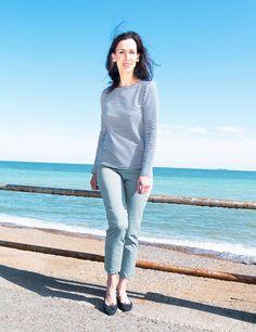 Portola Langarmshirt by Brigitte von Boch #bevonboch