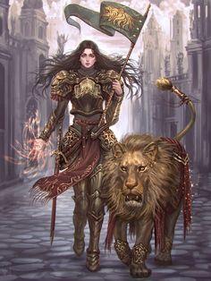 Lilith – Other Realm – fantasy art by Nazanin Nemati