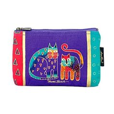 Laurel Burch Cosmetic Bag Zipper Top, Assorted Feline Prints by Laurel Burch. Save 5 Off!. $9.50. Cute feline designs on cosmetic bags. A must have. Features a dark background with a sturdy zippered top. Cute feline designs on cosmetic bags. Features a dark background with a sturdy zippered top.