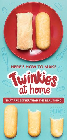 Here's How To Make Twinkies At Home (That Are Better Than The Real Thing)