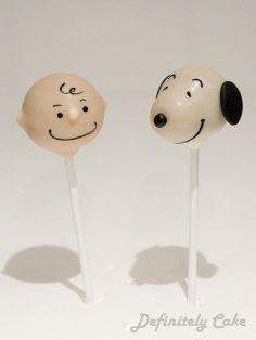 Charlie Brown and Snoopy pops