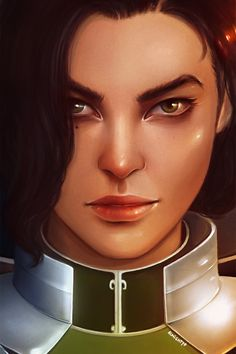 "Kuvira. I saw this photo and I was like, ""Ohhhhh. I like that. I need to post it."""