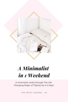 A Minimalist Tidying Up With Mari Kondo – The Artist Journal