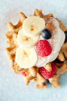 Gezond afvallen met lekkere wafels? Het kan! Hier ons makkelijk recept voor lekker en gezonde wafels van havermout en banaan. Ideaal voor in het weekend!