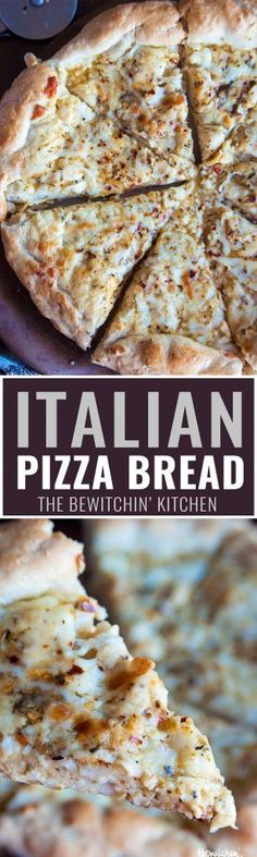 Italian Pizza Bread - this was my favorite appetizer recipe growing up! Soft…