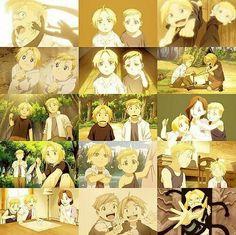 Fma | Edward | Alphonse | collage | brothers