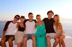 Alfie, Zoe, Jim, Tan, Marcus & Naomi on their most recent holiday