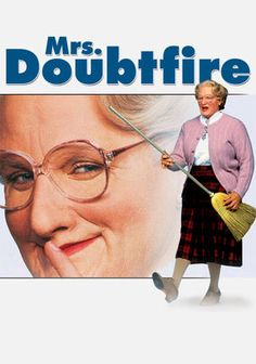 Mrs. Doubtfire (1993) Loving but irresponsible dad Daniel Hillard (Robin Williams), estranged from his exasperated spouse (Sally Field), is crushed by a court order allowing only weekly visits with his kids. When Daniel learns his ex needs a housekeeper, he gets the job -- disguised as an English nanny. Soon he becomes not only his children's best pal but the kind of parent he should have been from the start. Not surprisingly, the film won an Oscar for Best Makeup.
