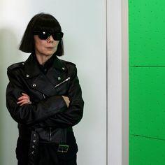 Rei Kawakubo #leatherforever #icon