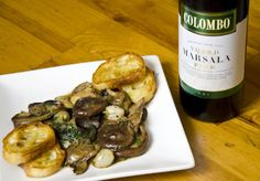 Offers Glazed Marsala Mushrooms Vegetable Recipe With Shiitake Porcini or Chanterelles Button or Cremini Butter Colombo Marsala Dry Pinch of Chopped Fresh Thyme or Sage Mushroom Vegetable, Vegetable Salad, Vegetable Side Dishes, Vegetable Recipes, Marsala Mushrooms, Marsala Recipe, Marsala Wine, Fresh Thyme, Side Recipes