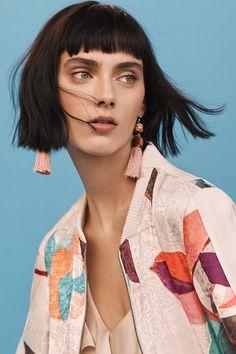 Slide View: 4: Silken Tassel Earrings