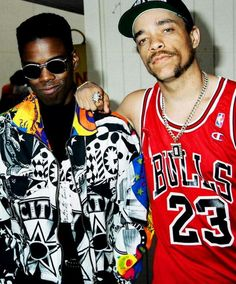 Chris Rock and Ice T