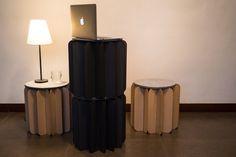 Bookniture foldable furniture  http://vurni.com/bookniture-furniture-hidden-in-a-book/