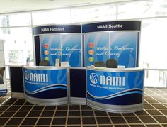 NAMI 2012 - Curved Registration Unit with Custom Graphics by Triumph Expo & Events, Inc., via Flickr