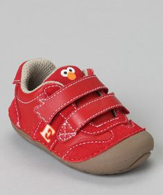Take a look at this Red Elmo Shoe by Stride Rite on #zulily today!...can't wait for these to show up!