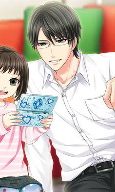 Shinichi Kagari Season 2 Private Day Off Manga Anime, Anime Toon, Anime Couples Manga, Cute Anime Couples, Manga Couple, Anime Love Couple, Handsome Anime Guys, Hot Anime Guys, Anime Love Story