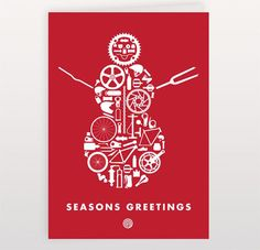 122 best christmas cards business images on pinterest business seasons greetings snowman m4hsunfo