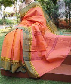 Elegant Kanchi Cotton Saree